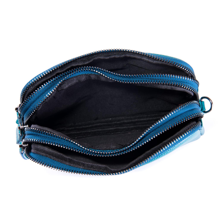 Сумка Женская Клатч кожа ALEX RAI 1-02 60061-13 blue - фото 4