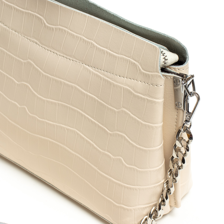 Сумка Женская Классическая кожа ALEX RAI 07-01 3203 L-beige - фото 3