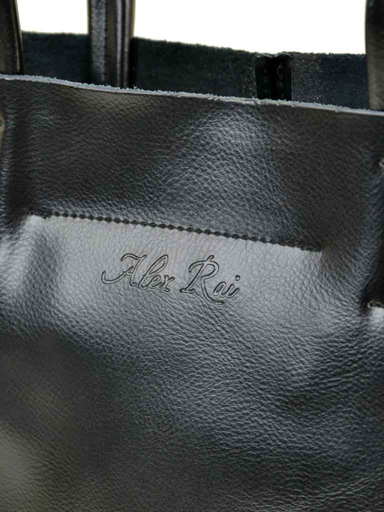Сумка Женская Классическая кожа ALEX RAI 07-01 8630 black - фото 3