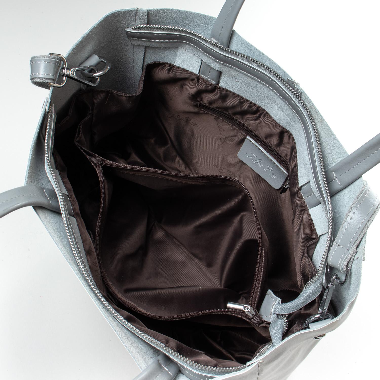 Сумка Женская Классическая кожа ALEX RAI 07-01 8630 l-grey - фото 5