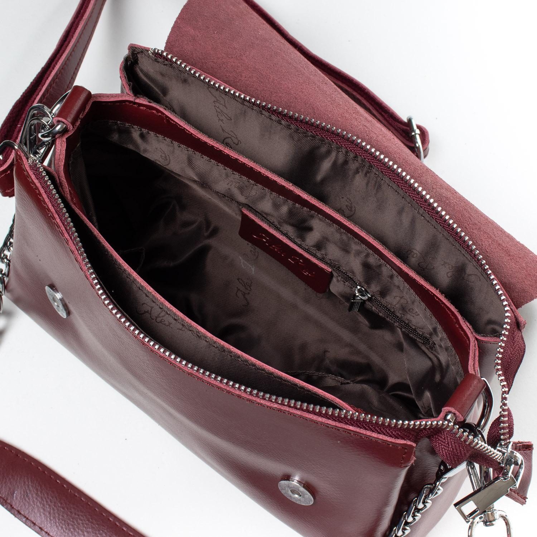 Сумка Женская Классическая кожа ALEX RAI 07-01 8778 l-red - фото 5