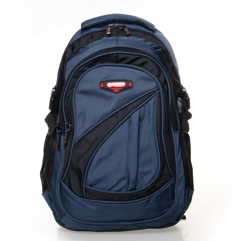 Рюкзак Городской нейлон Power In Eavas 7873 black-blue