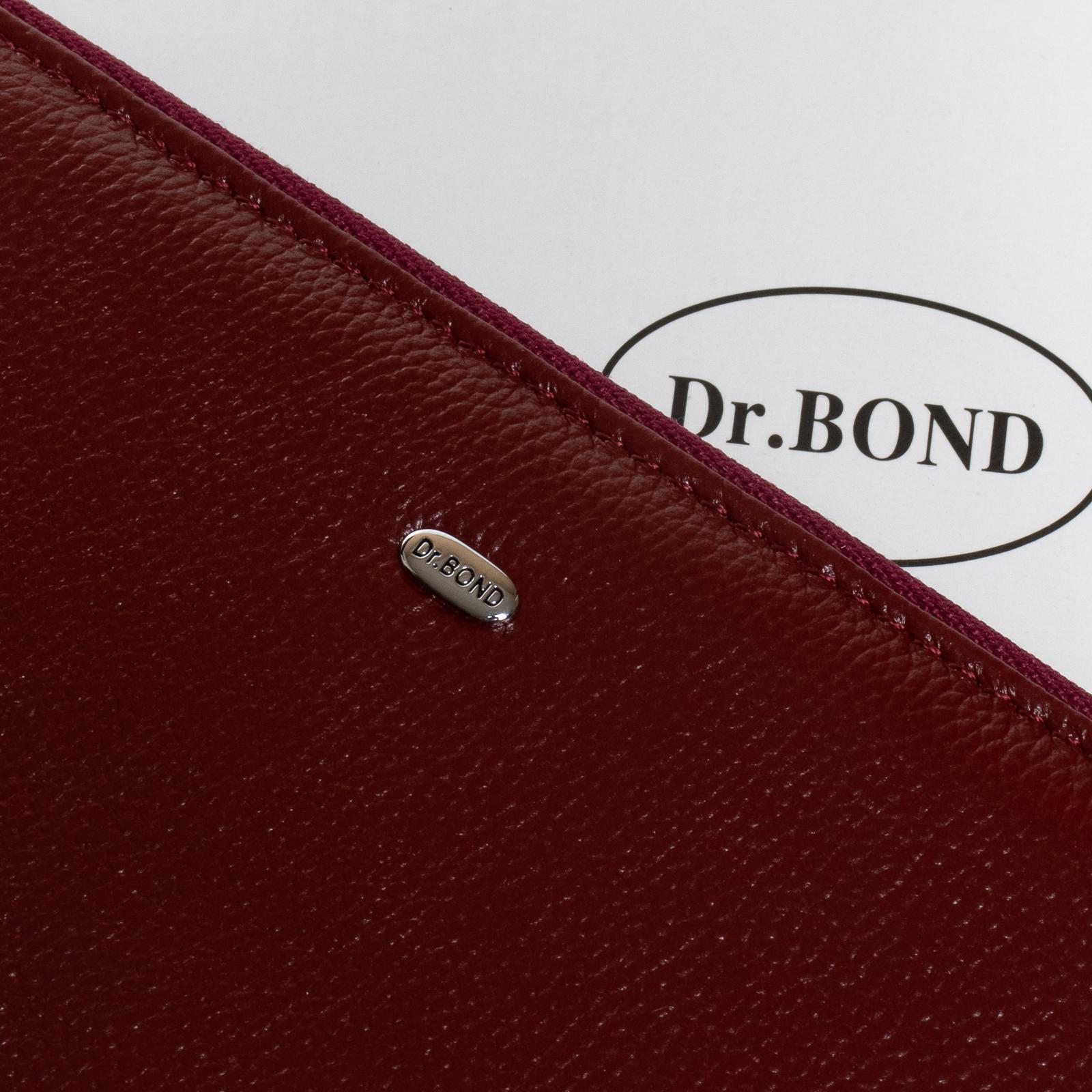 Кошелек Classic кожа DR. BOND W38 bordo - фото 3