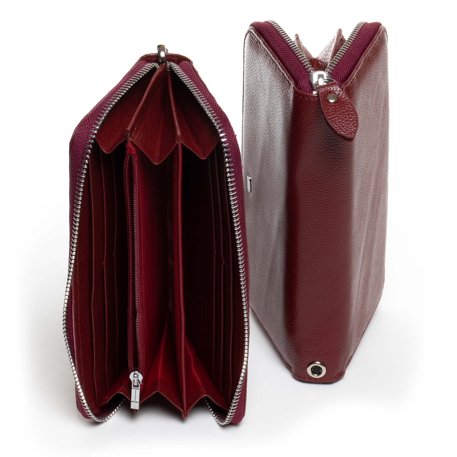 Кошелек Classic кожа DR. BOND W38 bordo - фото 4