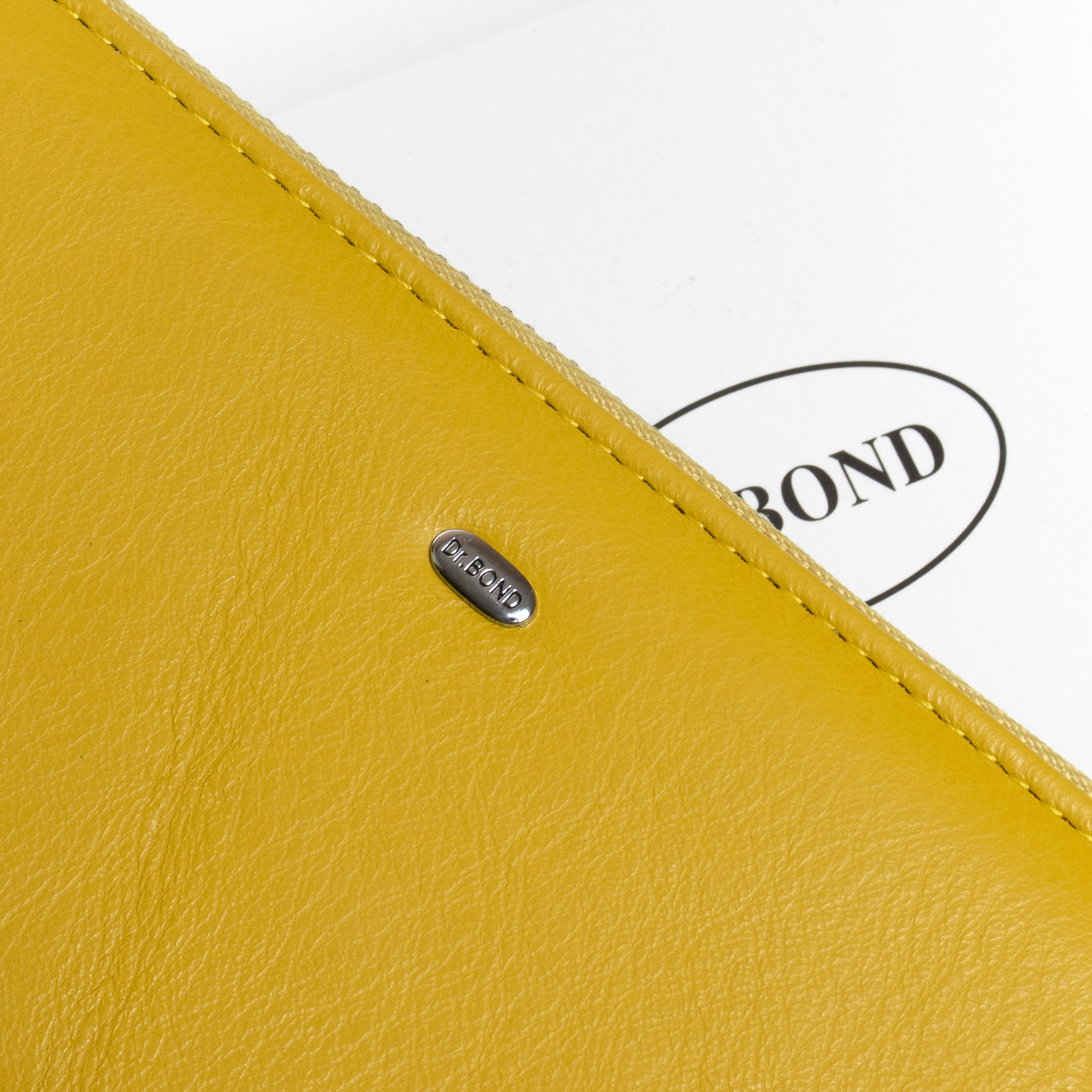 Кошелек Classic кожа DR. BOND W39-3 yellow - фото 3
