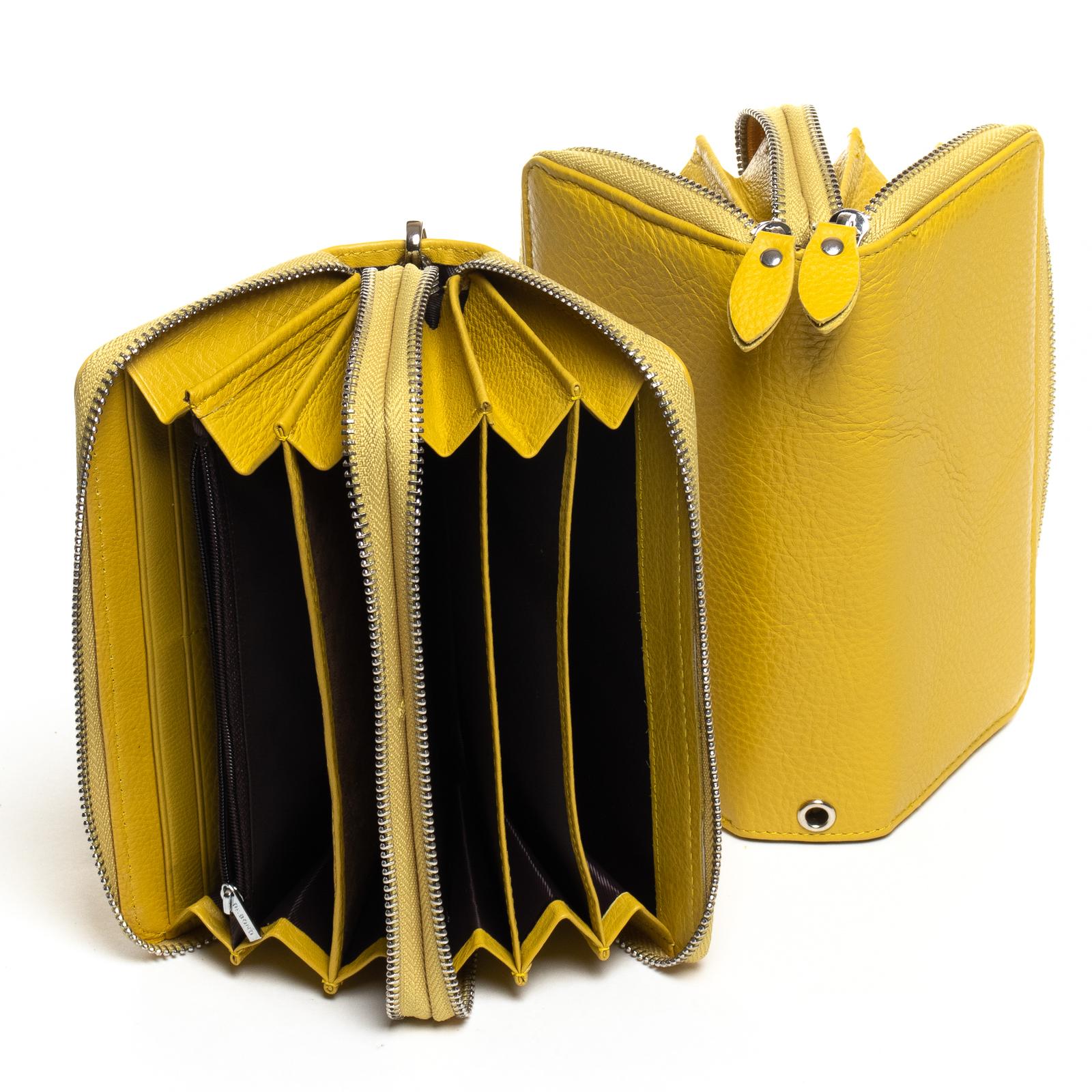 Кошелек Classic кожа DR. BOND W39-3 yellow - фото 4