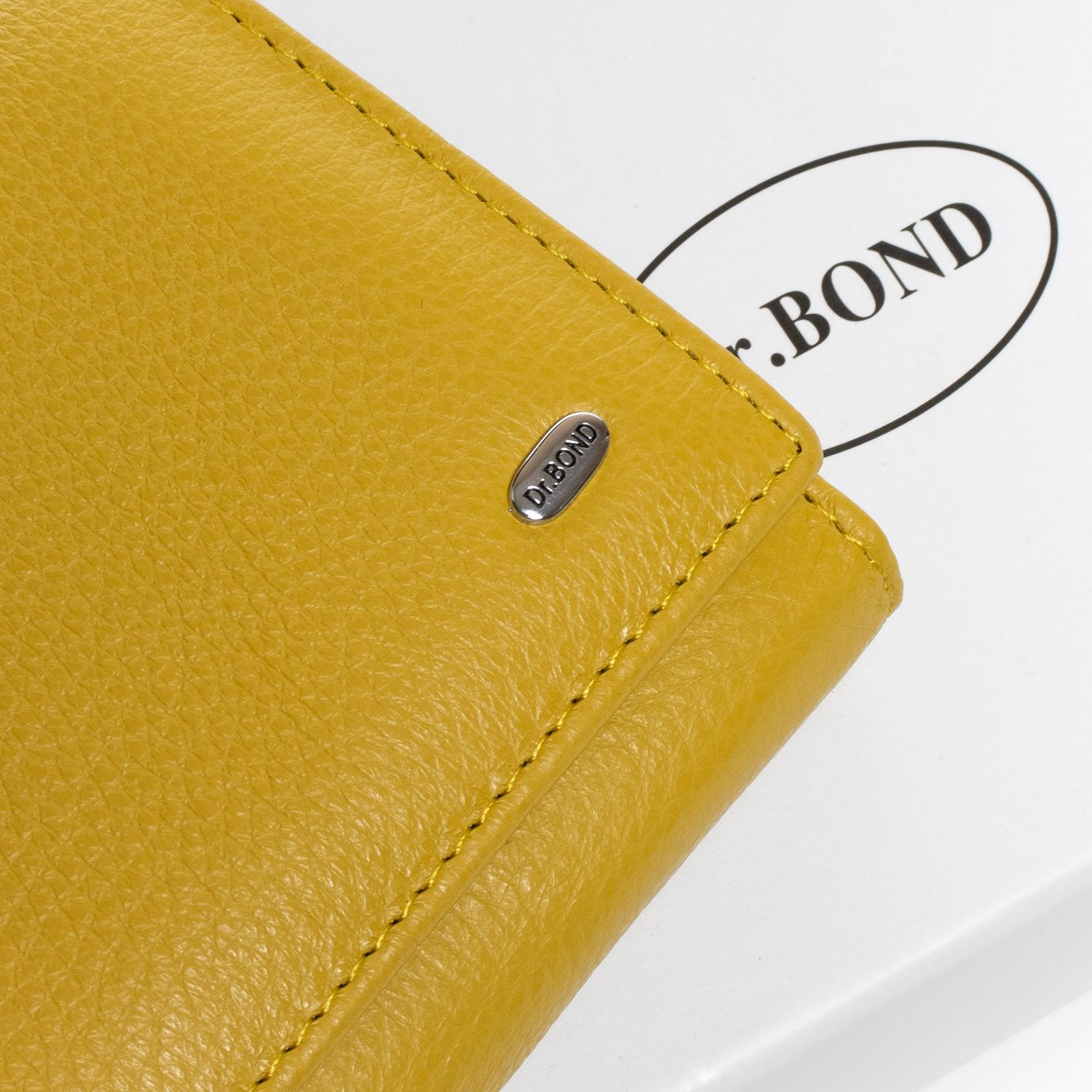 Кошелек Classic кожа DR. BOND W46-2 yellow - фото 3