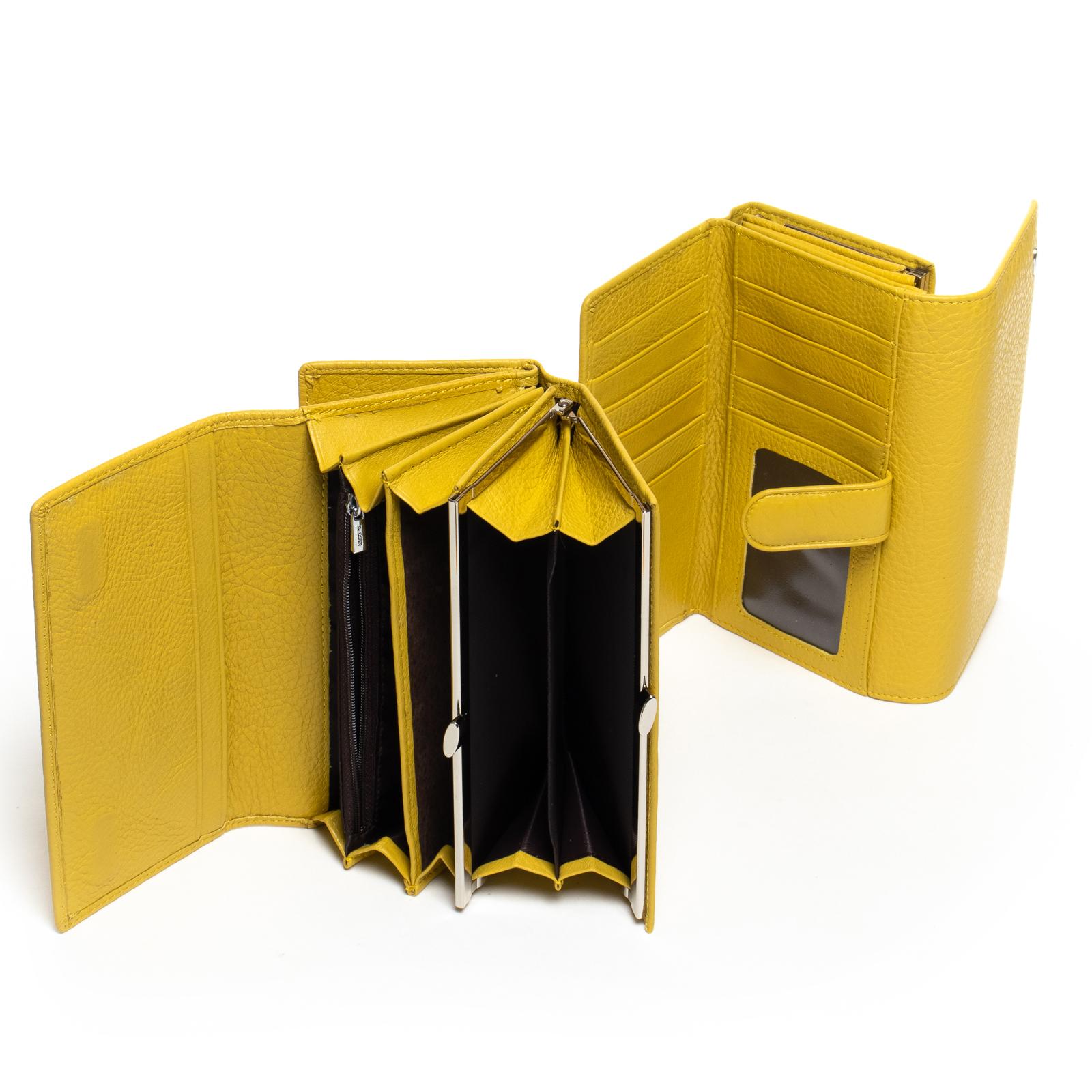 Кошелек Classic кожа DR. BOND W46-2 yellow - фото 4