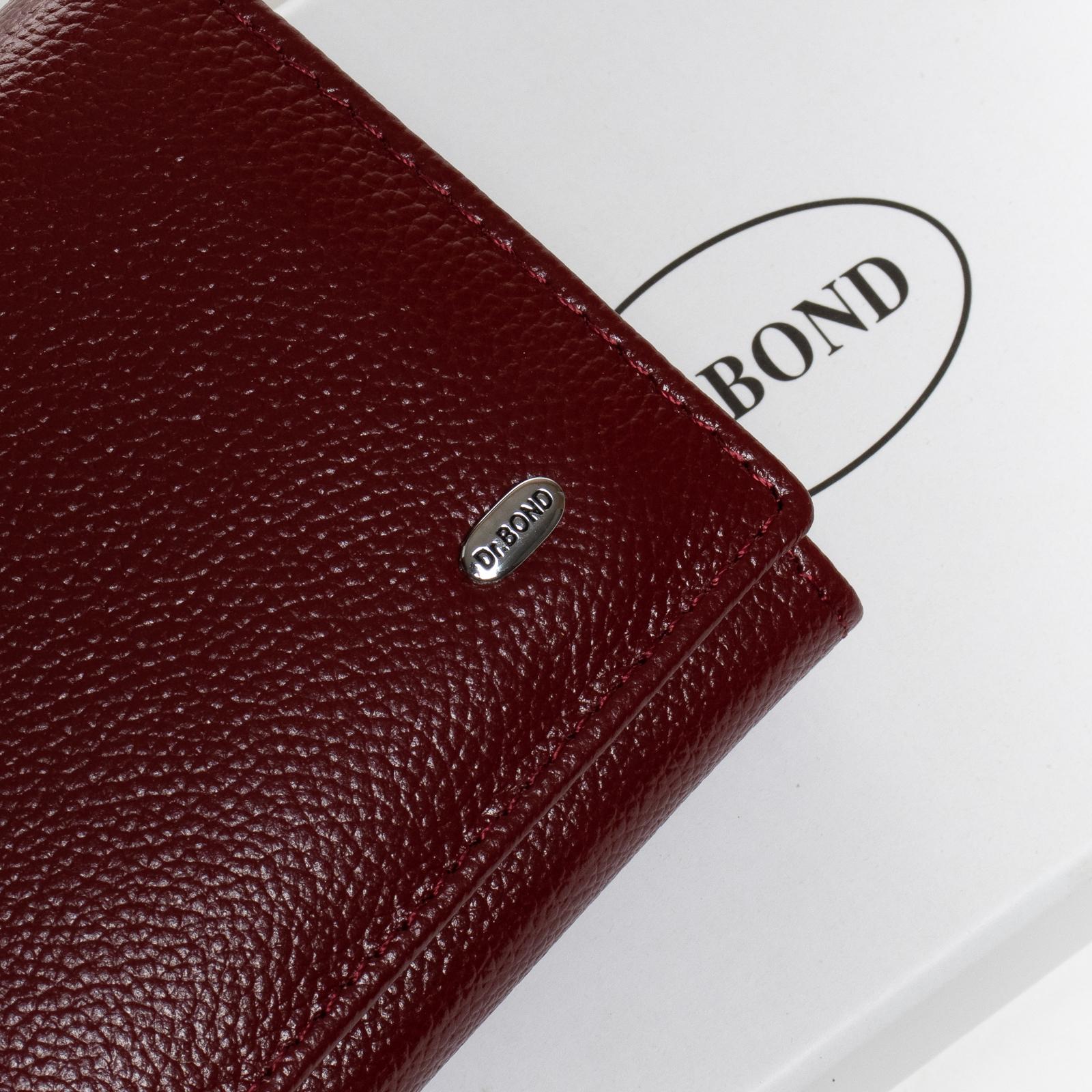 Кошелек Classic кожа DR. BOND W501 bordo - фото 3