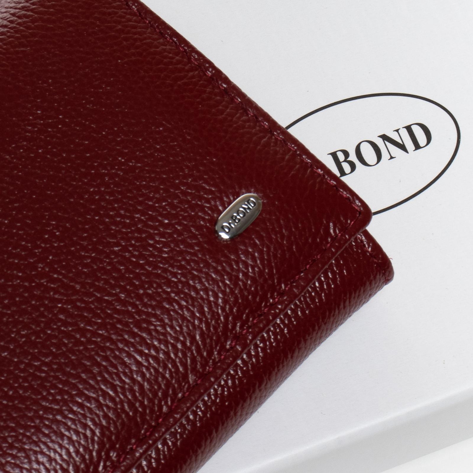 Кошелек Classic кожа DR. BOND W501-2 bordo - фото 3