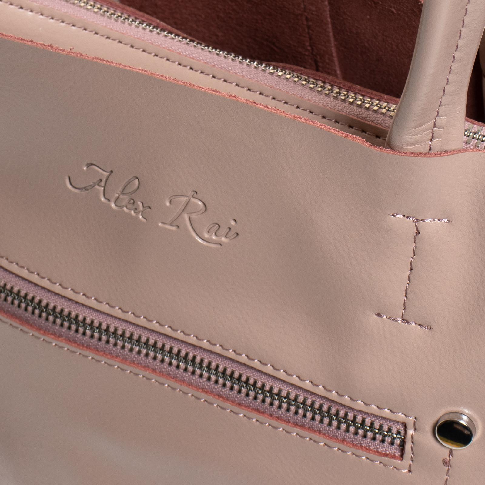 Сумка Женская Классическая кожа ALEX RAI 07-03 8773 pink - фото 3