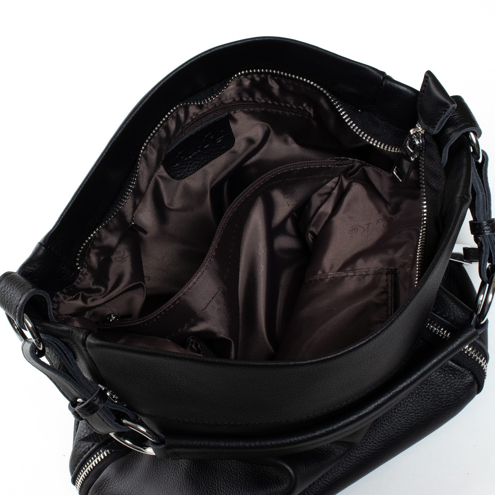 Сумка Женская Классическая кожа ALEX RAI 07-03 8779-9 black - фото 5