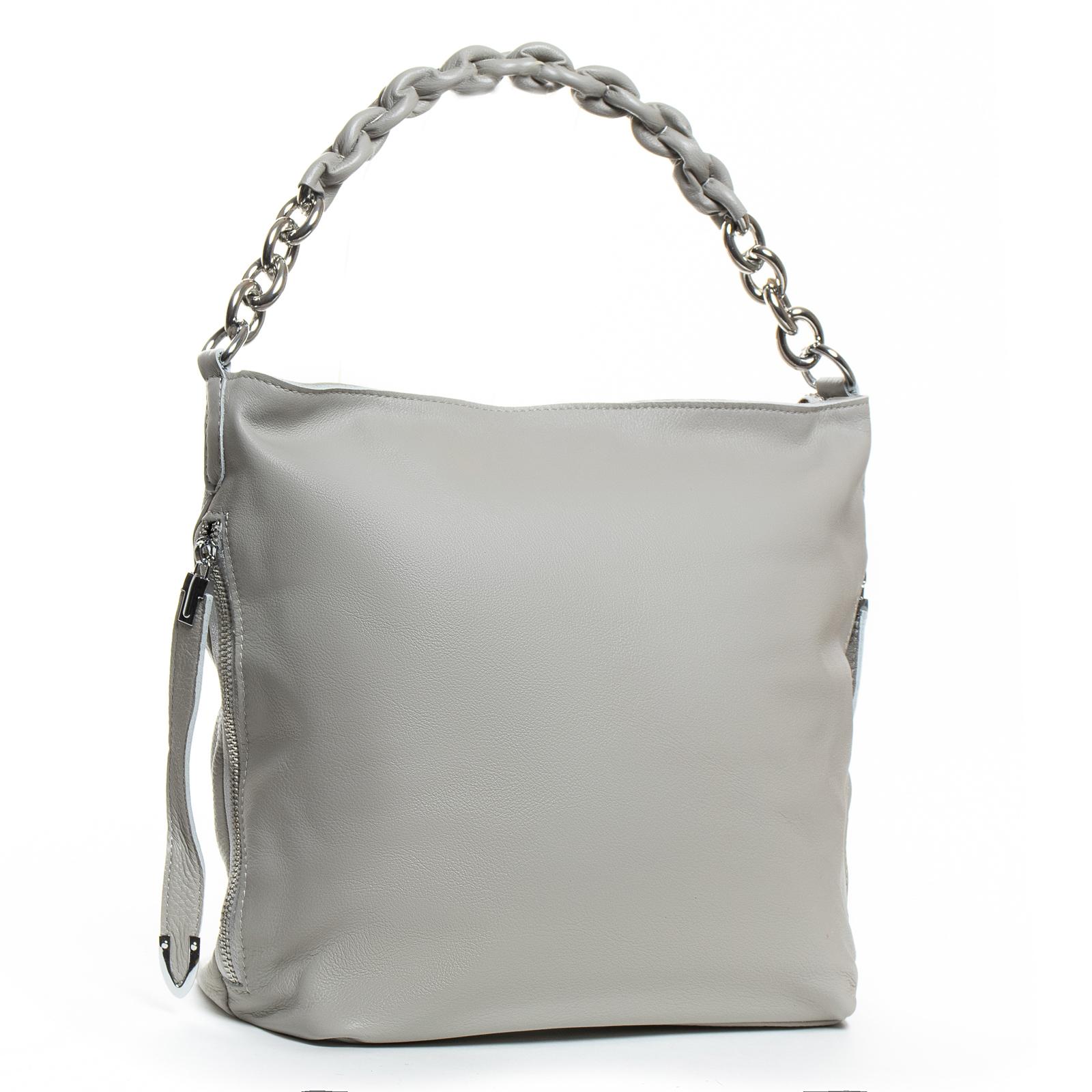 Сумка Женская Классическая кожа ALEX RAI 07-03 8798-9 grey