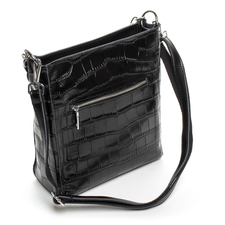 Сумка Женская Классическая кожа ALEX RAI 9704 black - фото 4
