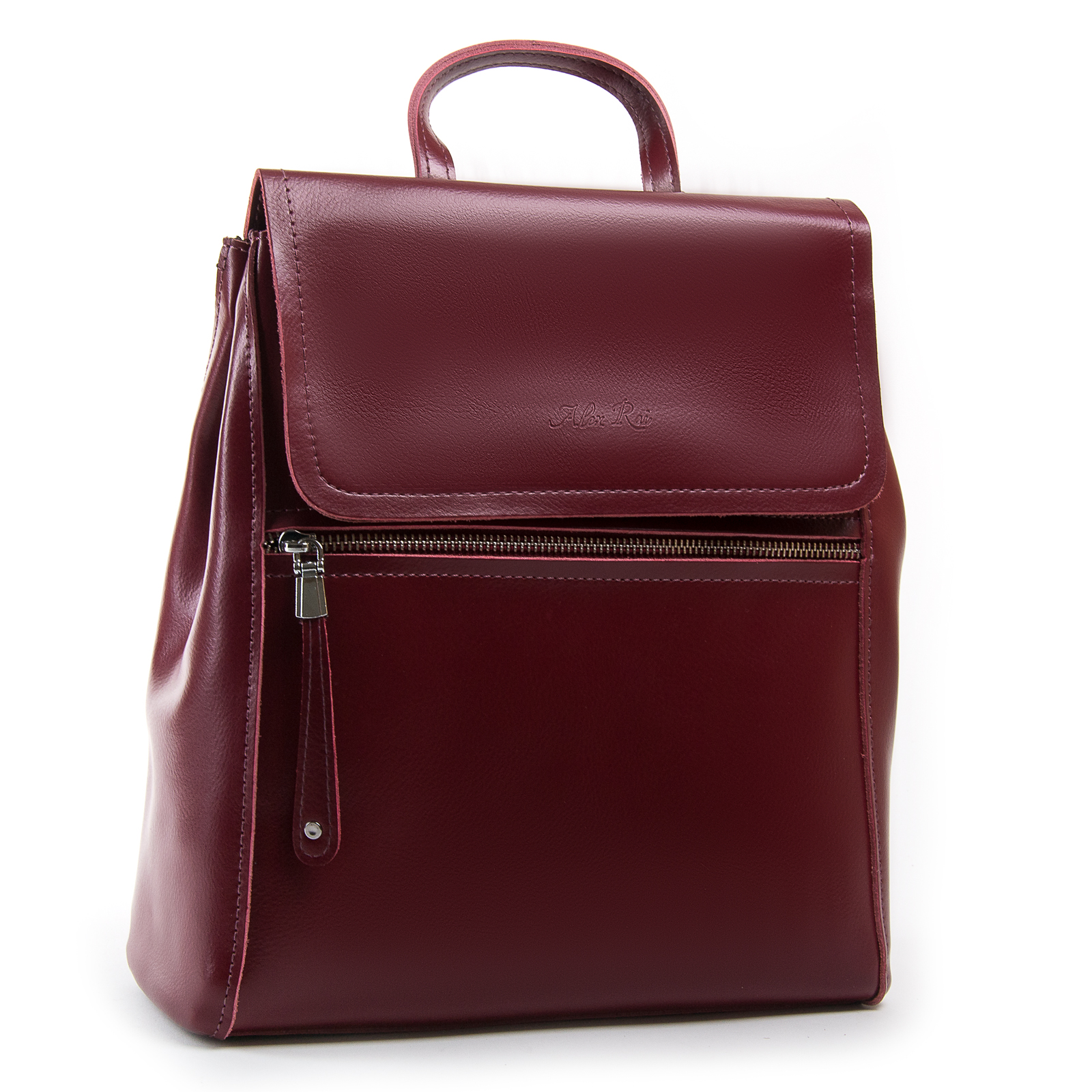 Сумка Женская Рюкзак кожа ALEX RAI 1005 l-red