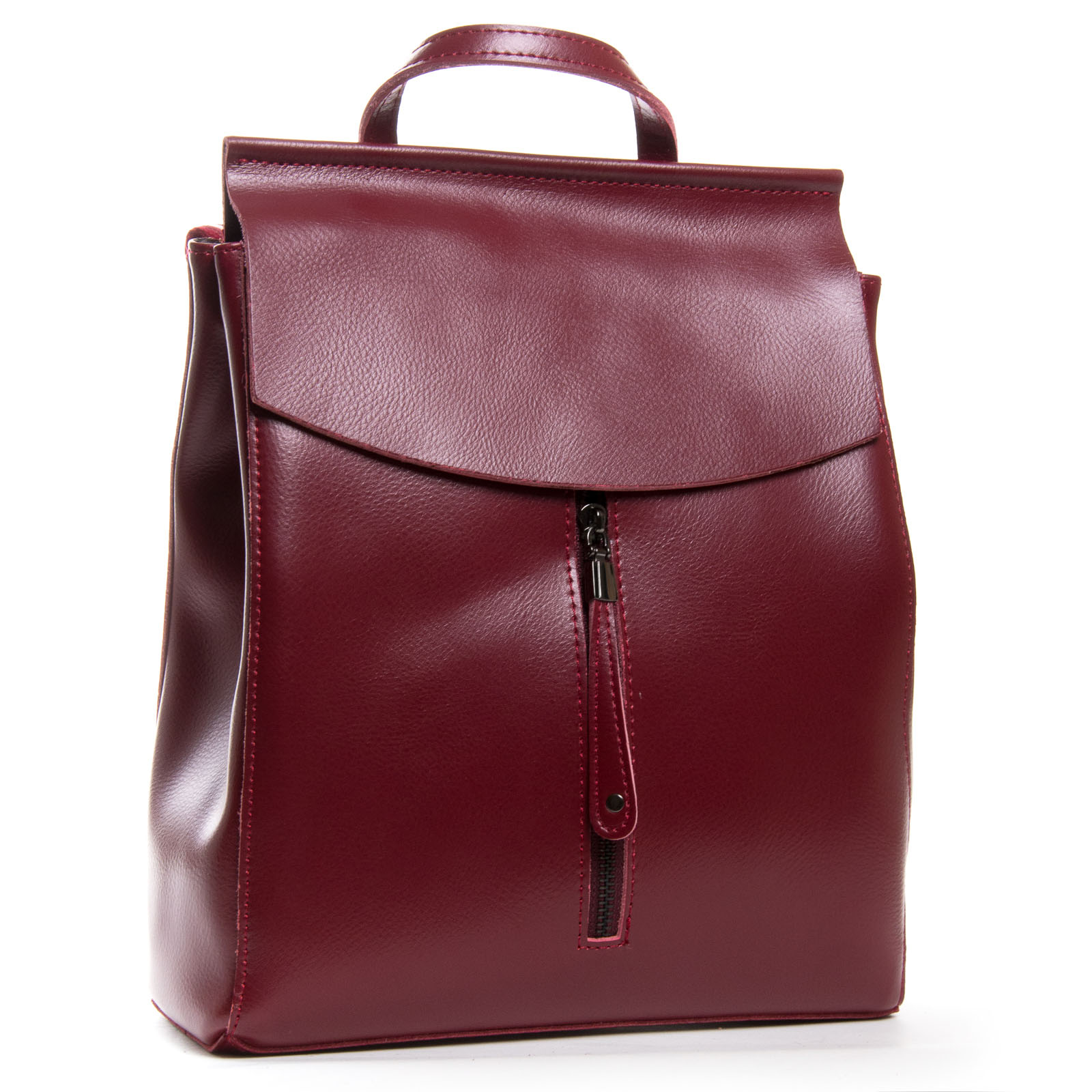 Сумка Женская Рюкзак кожа ALEX RAI 3206 l-red