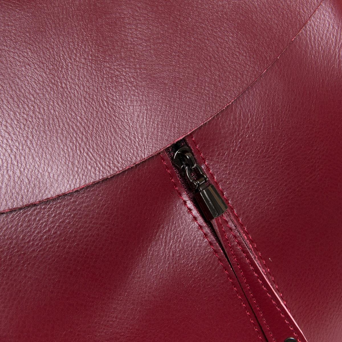 Сумка Женская Рюкзак кожа ALEX RAI 3206 l-red - фото 5