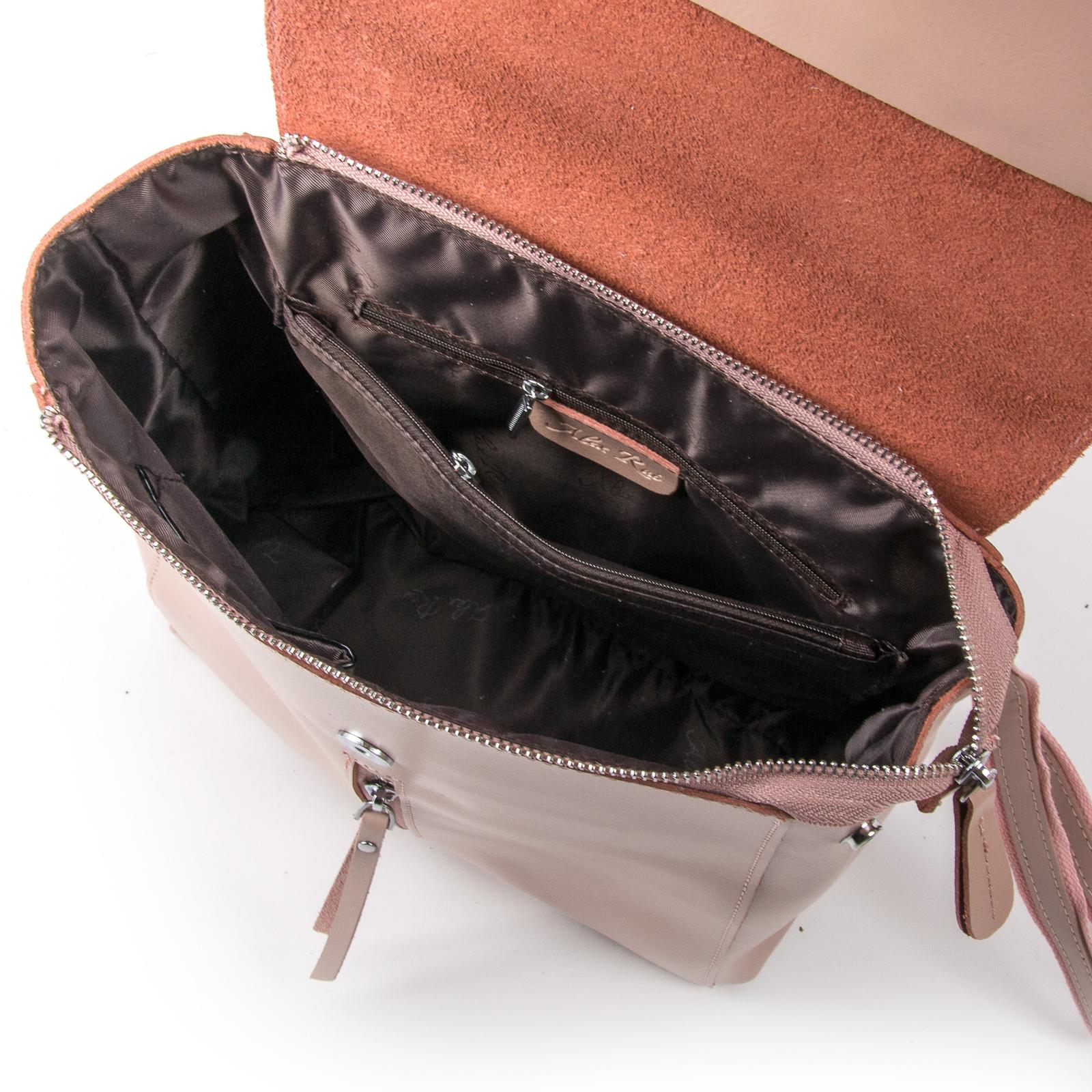 Сумка Женская Рюкзак кожа ALEX RAI 373 l-rose - фото 5