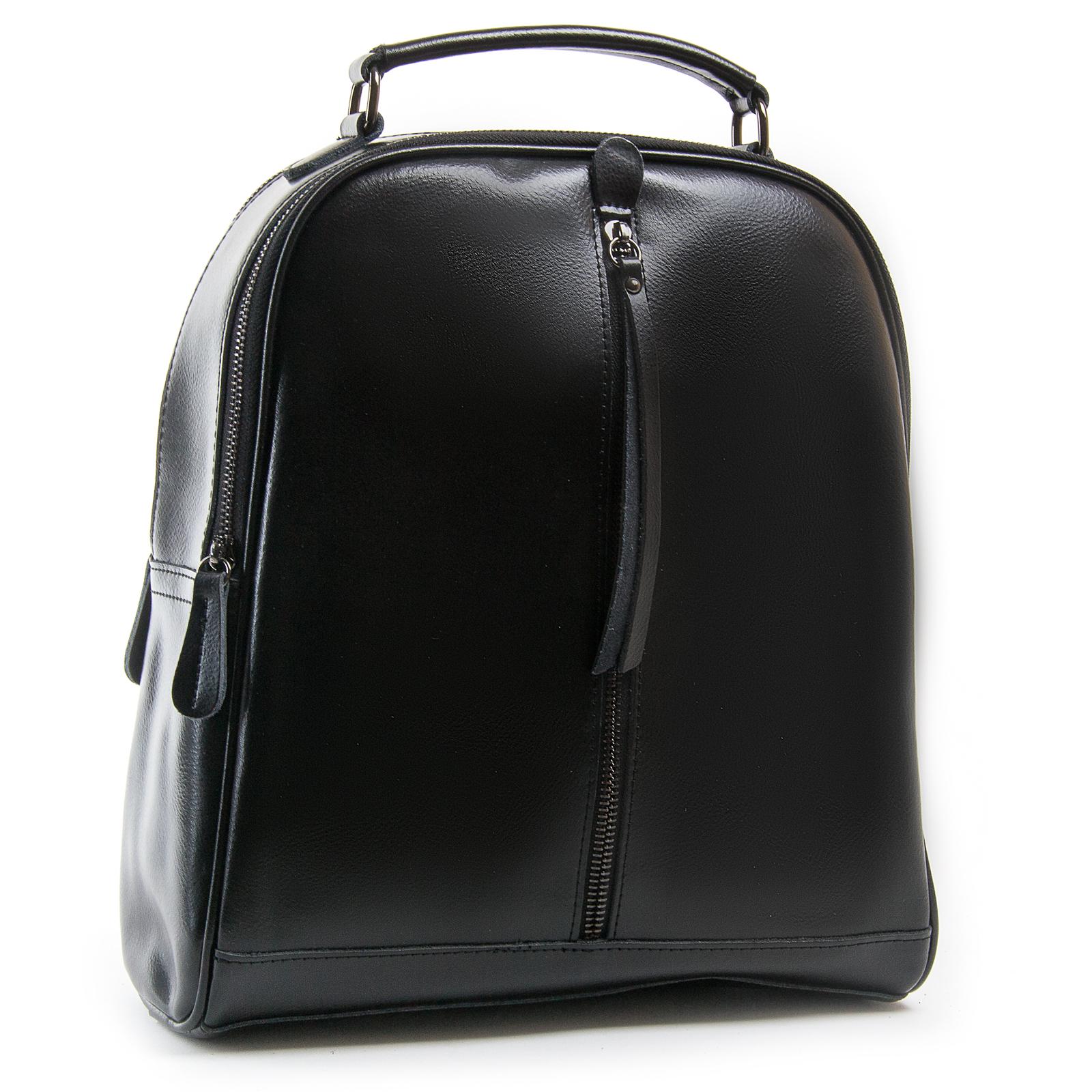 Сумка Женская Рюкзак кожа ALEX RAI 8694-3 black