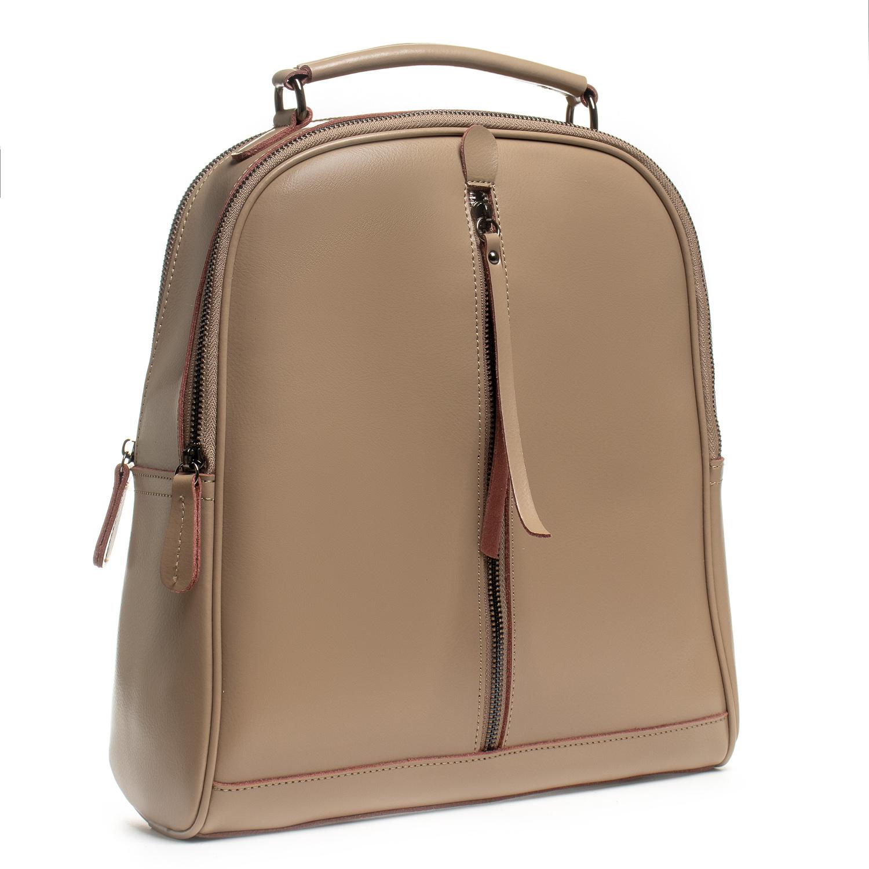 Сумка Женская Рюкзак кожа ALEX RAI 8694-3 khaki