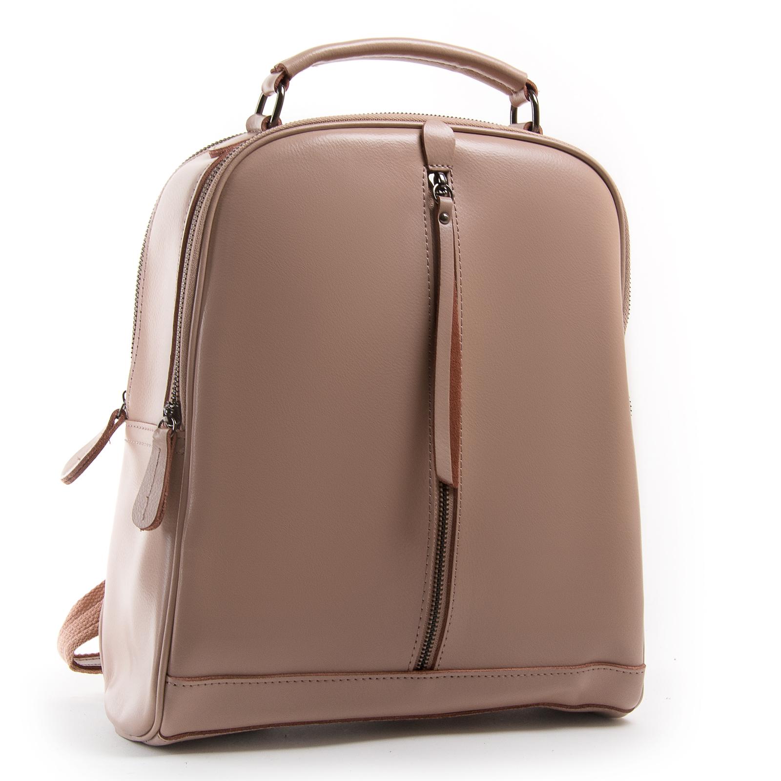 Сумка Женская Рюкзак кожа ALEX RAI 8694-3 pink