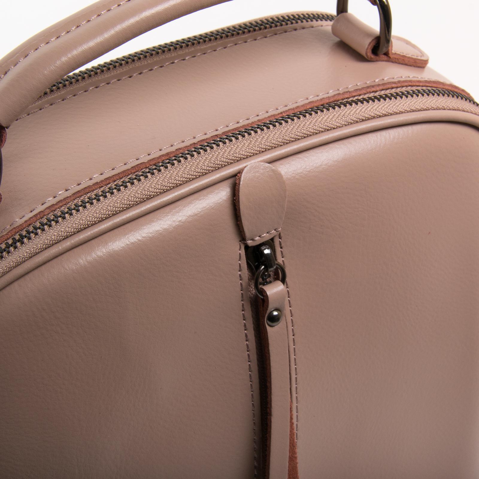 Сумка Женская Рюкзак кожа ALEX RAI 8694-3 pink - фото 3