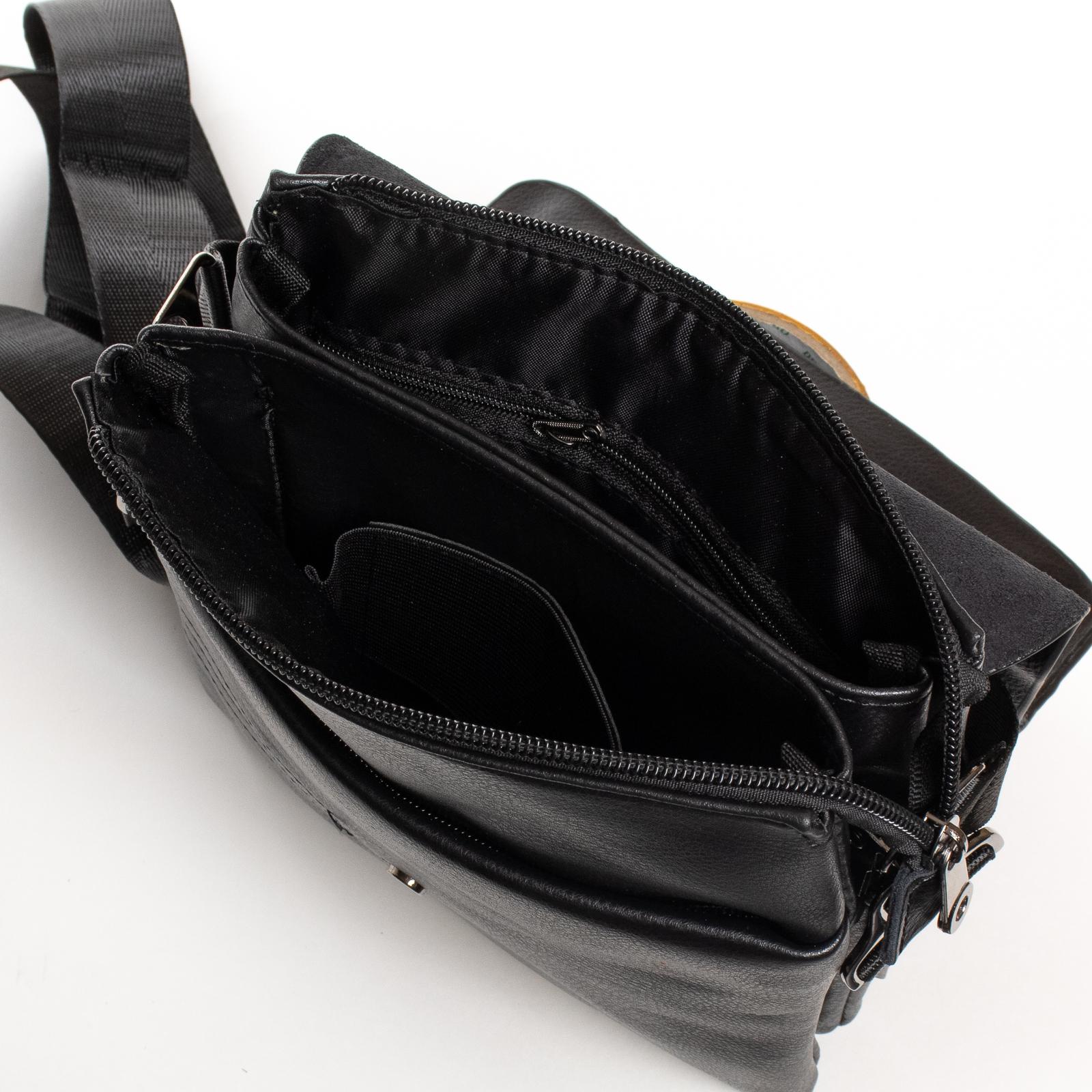 Сумка Мужская Планшет иск-кожа DR. BOND GL 205-2 black - фото 5