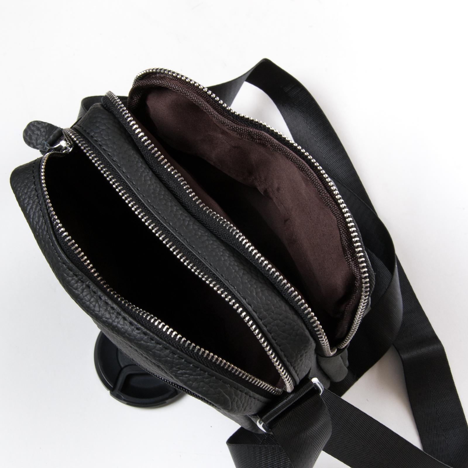 Сумка Мужская Планшет кожа DR. BOND 8016 black - фото 5