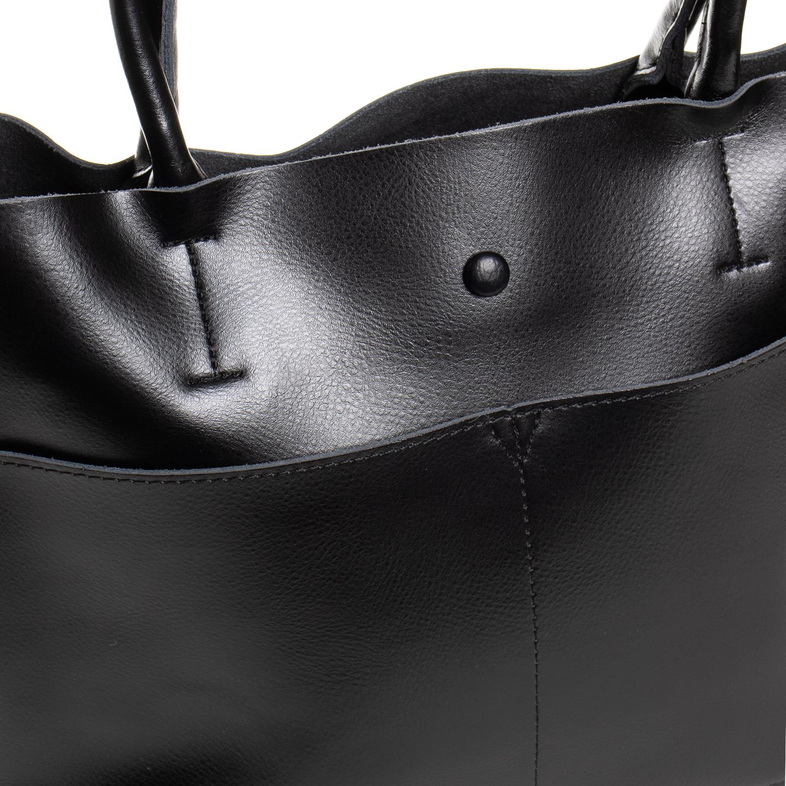 Сумка Женская Классическая кожа ALEX RAI 03-09 13-9505 black - фото 3