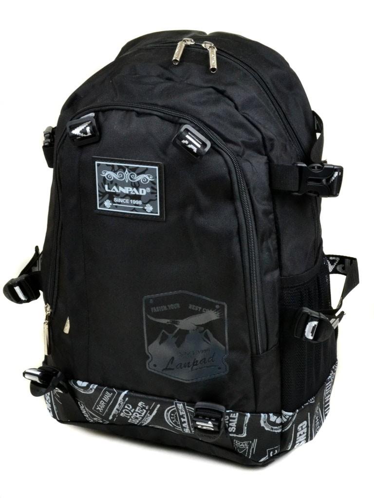 Рюкзак Городской текстиль Lanpad 3371-1 black