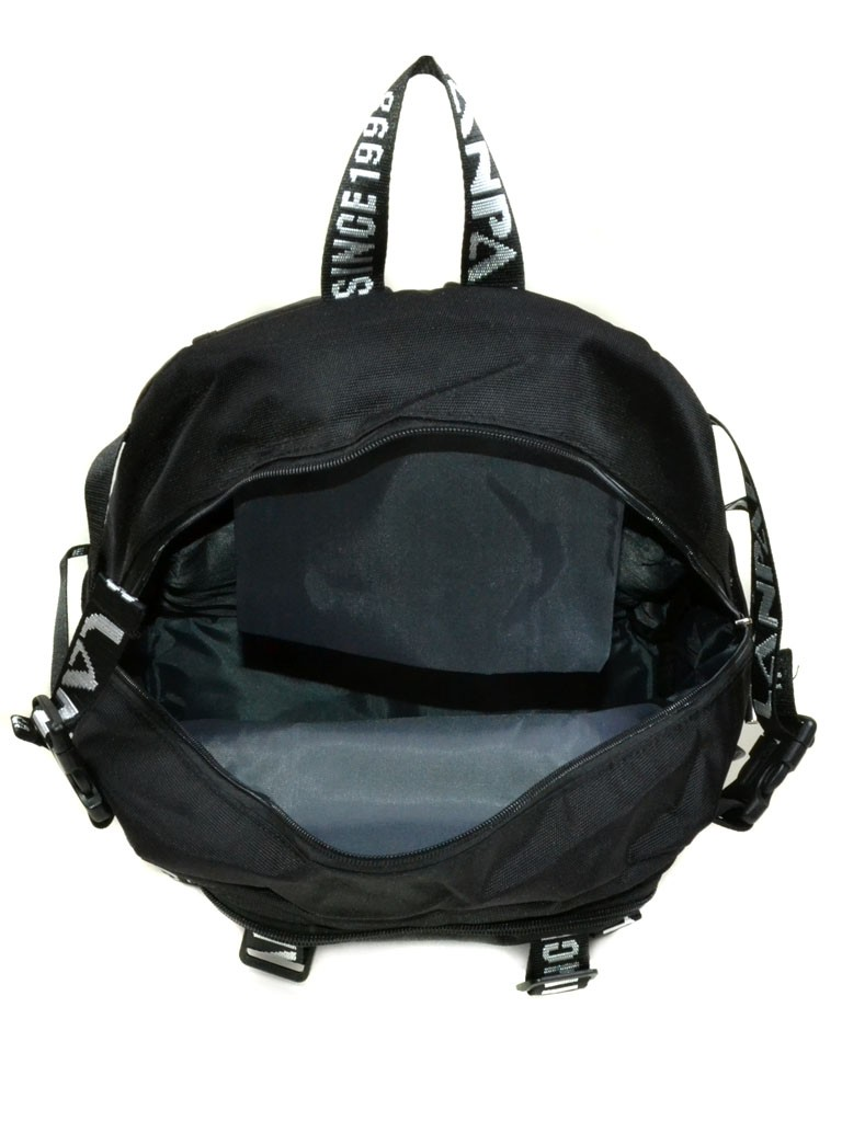 Рюкзак Городской текстиль Lanpad 3371-1 black - фото 4