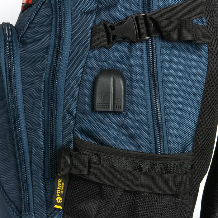 Рюкзак Городской нейлон Power In Eavas 9607 blue - фото 5