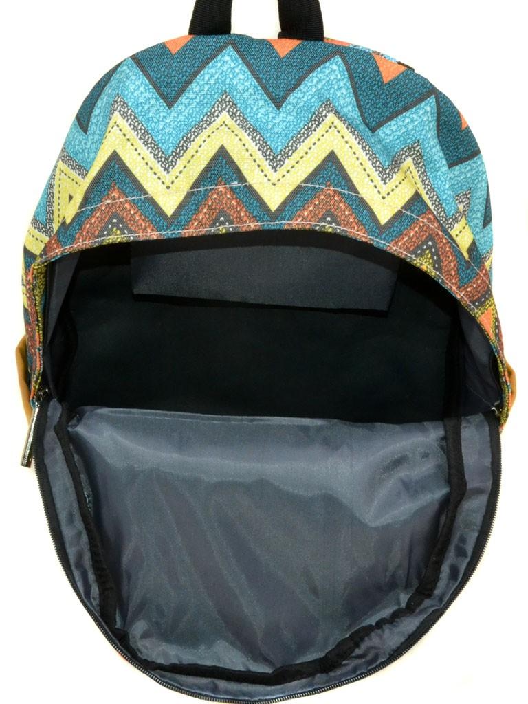 Рюкзак Городской текстиль Lanpad 3360-1 black - фото 4