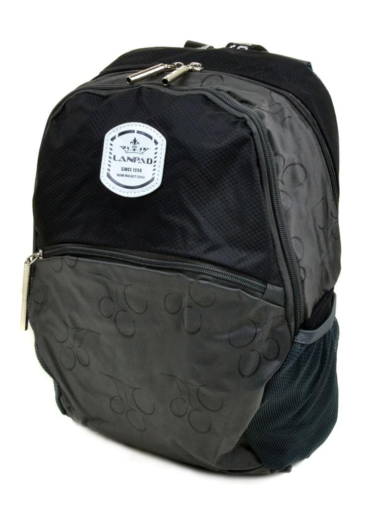 Рюкзак Городской текстиль Lanpad 3380-1 black