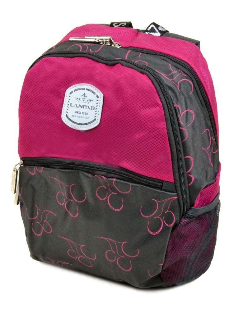 Рюкзак Городской текстиль Lanpad 3380-7 pink