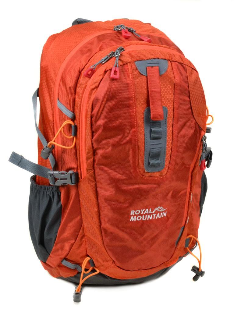Рюкзаки Туристический нейлон Royal Mountain 1465 orange