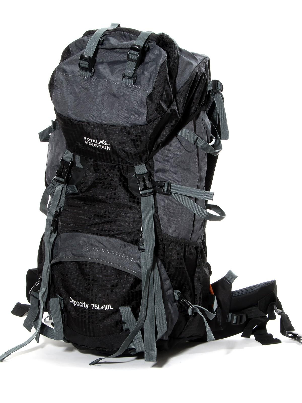 Рюкзак Туристический нейлон Royal Mountain 8330 black