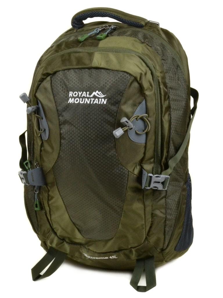 Рюкзак Туристический нейлон Royal Mountain 8463 dark-green