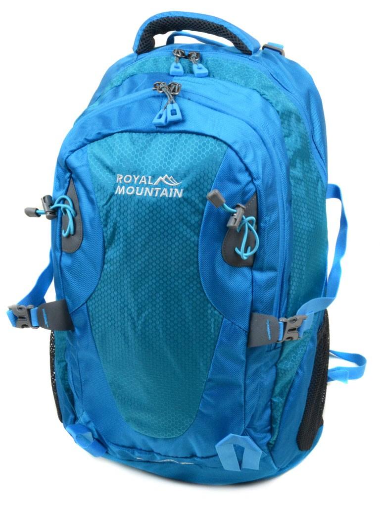 Рюкзак Туристический нейлон Royal Mountain 8463 l-blue