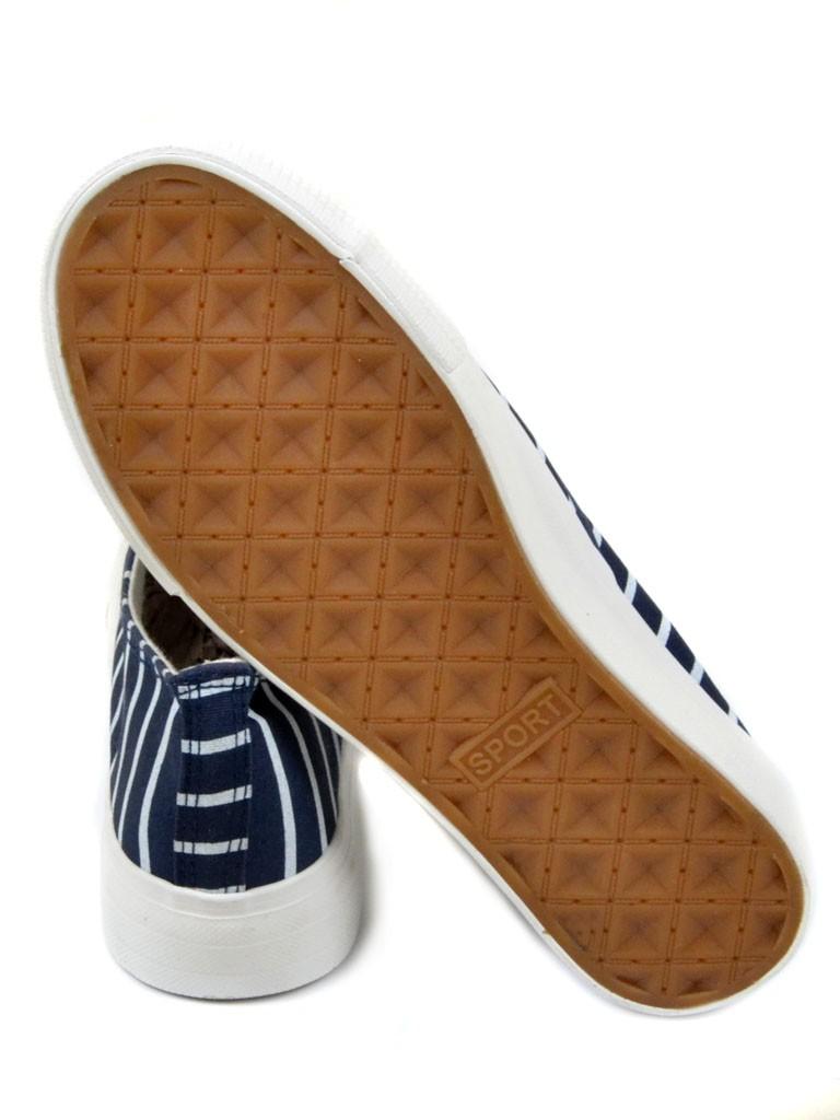 Обувь Женская  Слипоны G1213-7 blue 40(р) - фото 3