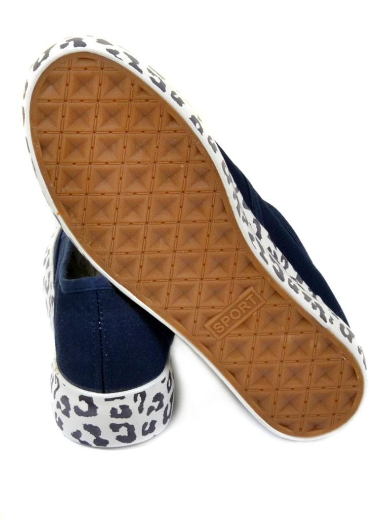 Обувь Женская  Слипоны G1230-1 dark-blue 37(р)