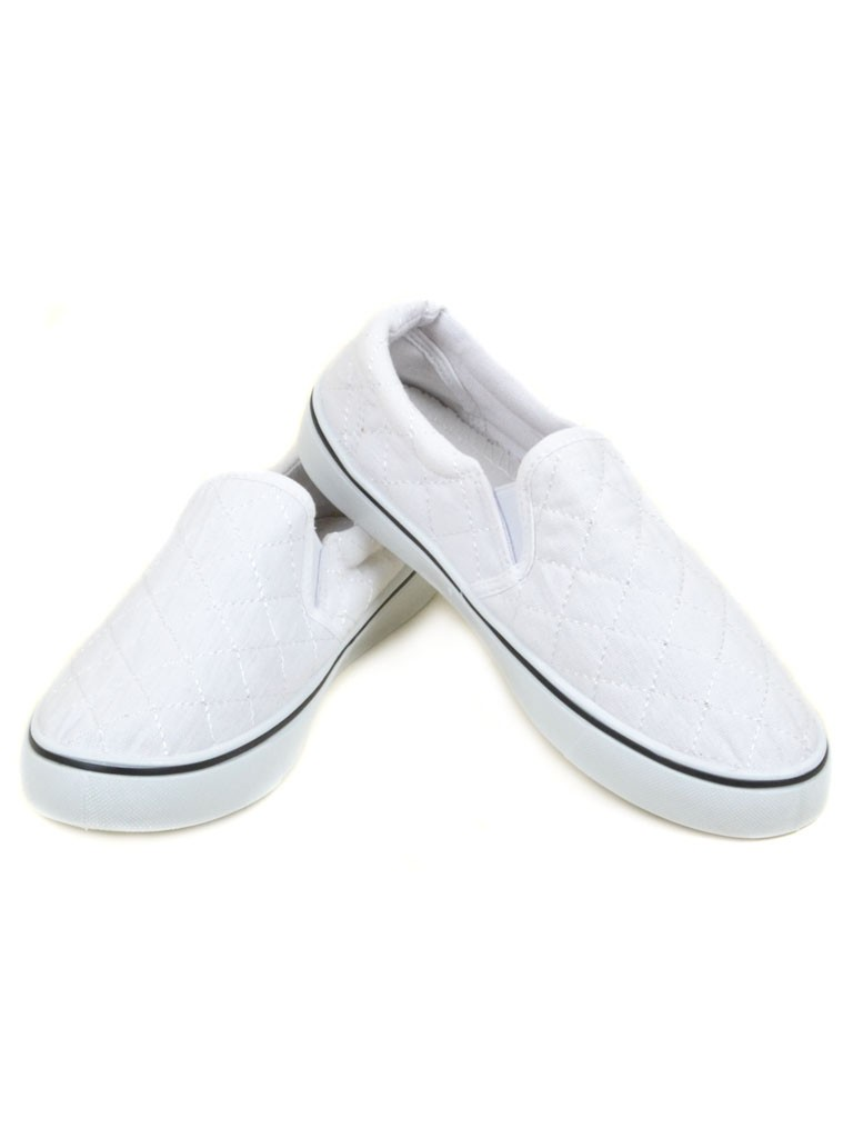 Обувь Женская  Слипоны HY361-2 white 40(р)