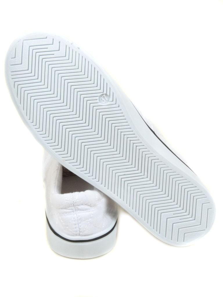 Обувь Женская  Слипоны HY361-2 white 40(р) - фото 3