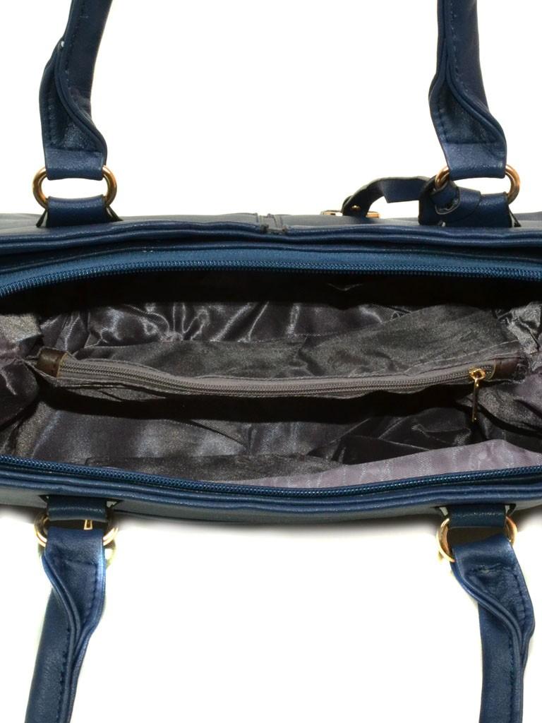 Сумка Женская Классическая иск-кожа 08-2 60336 blue - фото 4