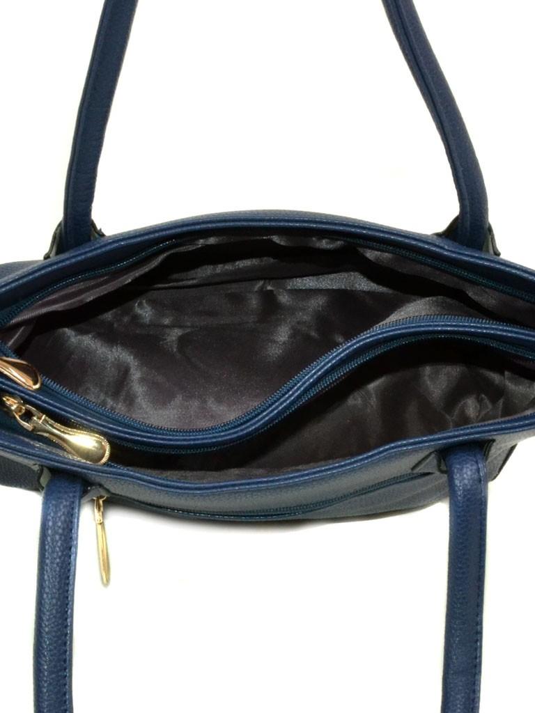 Сумка Женская Классическая иск-кожа 08-2 60508 blue - фото 4