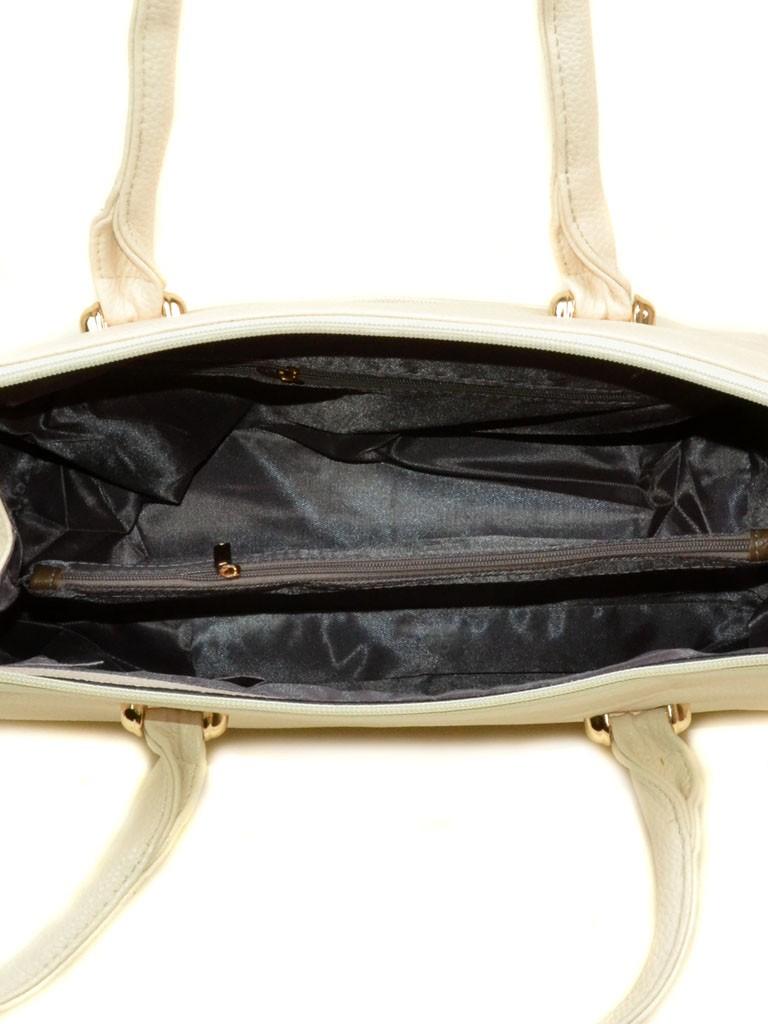 Сумка Женская Классическая иск-кожа 08-2 6114 l-beige
