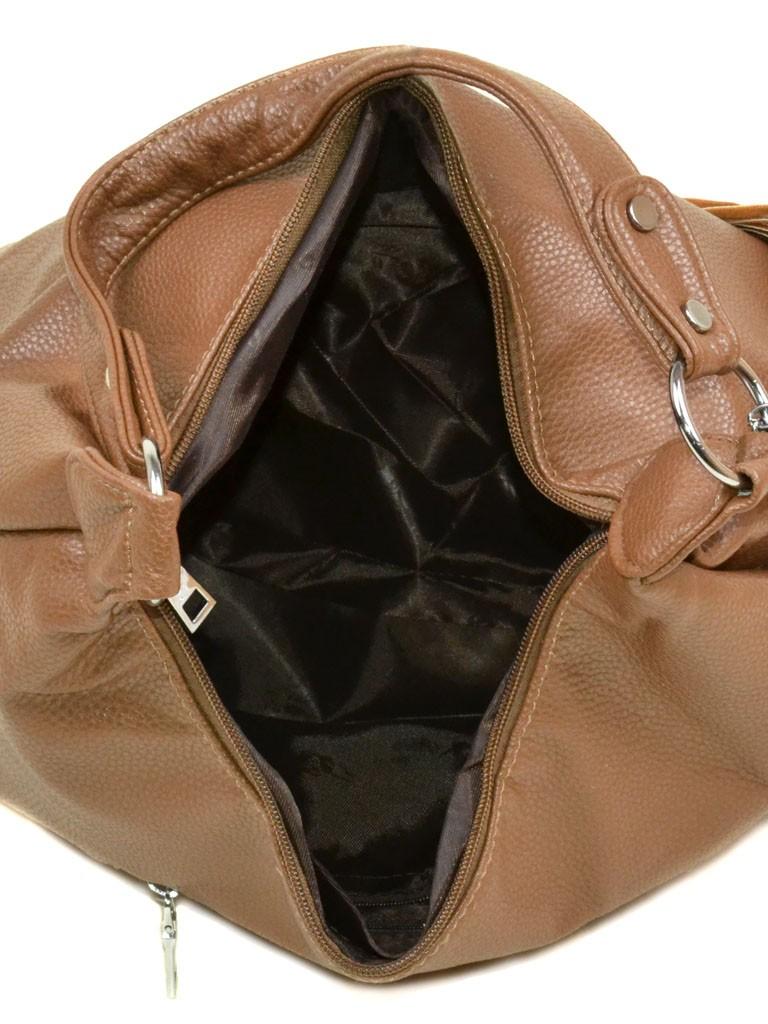 Сумка Женская Классическая иск-кожа 08-5 15140 beige - фото 4