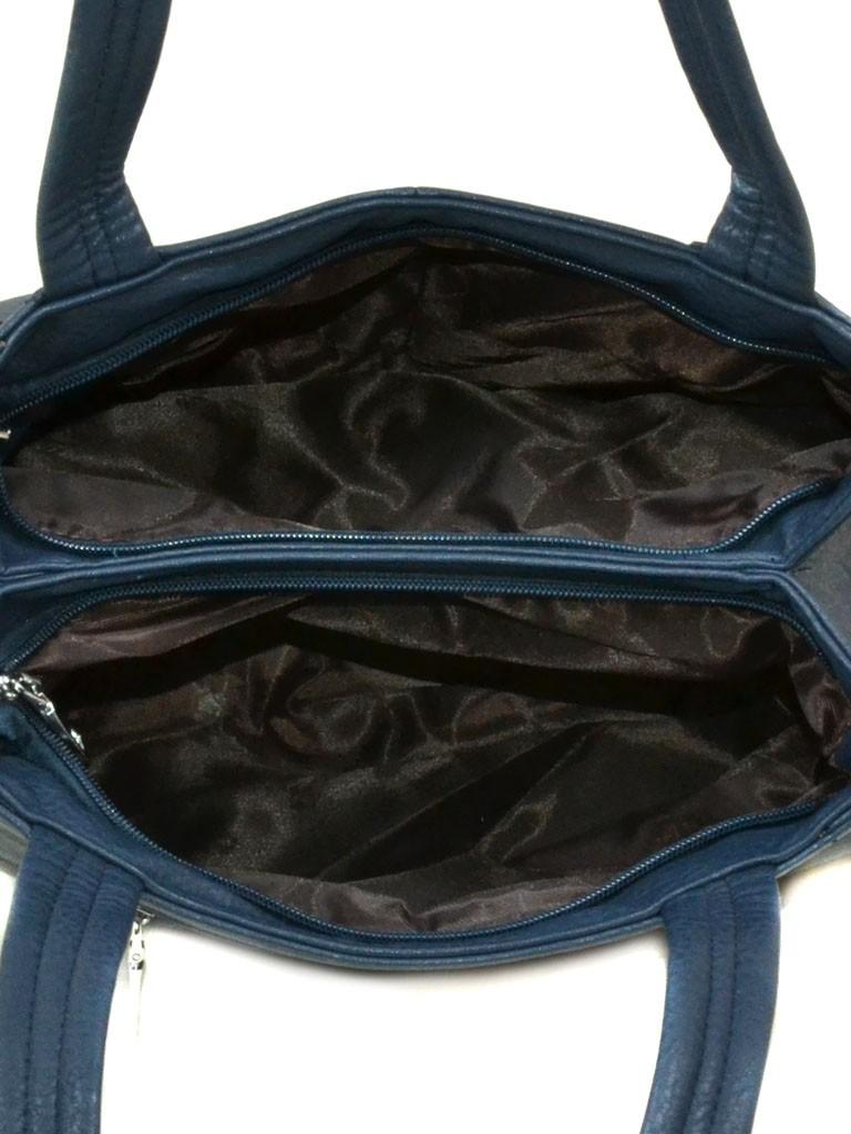 Сумка Женская Классическая иск-кожа 08-5 15172 blue - фото 4