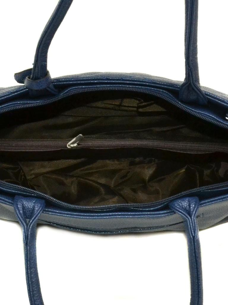 Сумка Женская Классическая иск-кожа 08-5 16232 blue - фото 4