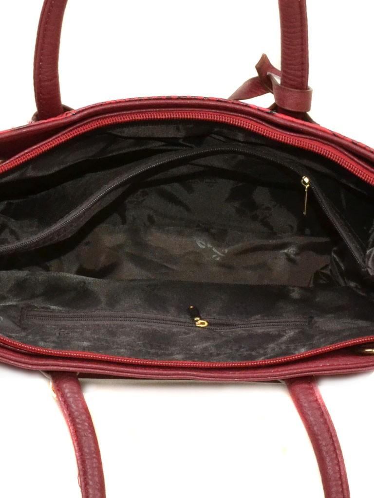 Сумка Женская Классическая иск-кожа 08-5 579 red - фото 4